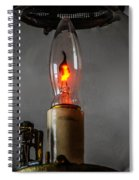 Wall Lantern Close-up Spiral Notebook