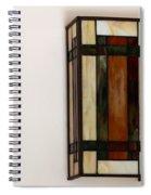Wall Light Spiral Notebook