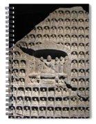 Wall Of Buddha Spiral Notebook