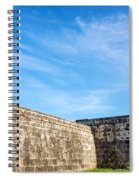 Wall Of Cartagena Colombia Spiral Notebook