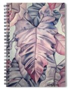 Wall Of Leaves Spiral Notebook