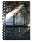 Wall Of Tombstones Knocked Down During Civil War Spiral Notebook