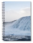 Wall Of Water Spiral Notebook