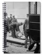 Wall Street Bombing, 1920 Spiral Notebook