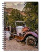 Wall Street Mine Pickup Spiral Notebook