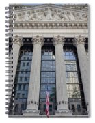 Wall Street New York Stock Exchange Nyse  Spiral Notebook