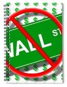 Wall Street No Spiral Notebook