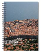 Walled City Of Dubrovnik Spiral Notebook
