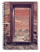 Walled In Spiral Notebook