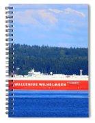 Wallenius Wilhelmsen Logistics Tamerlane Ship Spiral Notebook