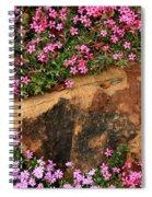 Wallflowers 3 Spiral Notebook