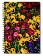 Wallflowers Spiral Notebook