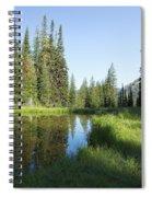 Wallowas - No. 3 Spiral Notebook