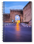 Walls Of Fes In Morocco Spiral Notebook