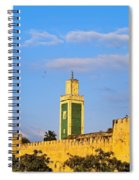 Walls Of Meknes In Morocco Spiral Notebook
