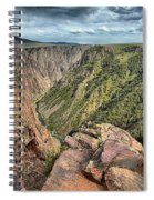 Walls Of The Black Canyon Spiral Notebook