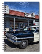 Wallys Service Station Spiral Notebook