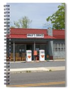 Wallys Service Station Mayberry Spiral Notebook
