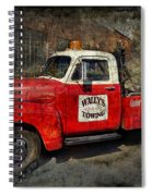 Wally's Towing Spiral Notebook