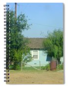 Walnut Grove - Typical Rural Farm House Spiral Notebook