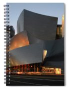 Walt Disney Concert Hall 21 Spiral Notebook