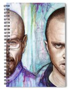Walter And Jesse - Breaking Bad Spiral Notebook