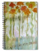 Waltz Of The Flowers Spiral Notebook