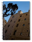 Wandering Around The Streets Of Barcelona Spain Spiral Notebook
