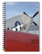 War Bird Spiral Notebook
