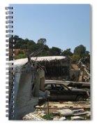 War Of The Worlds - Universal Studios Spiral Notebook