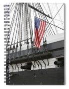 War Ship Spiral Notebook