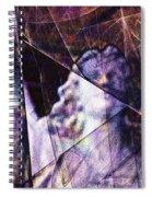 Warehouse Angel / Through The Broken Glass Spiral Notebook