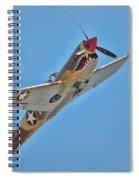 Warhawk Fighter Spiral Notebook