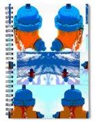 Warhol Firehydrants Spiral Notebook
