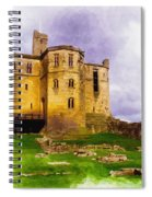Warkworth Castle Spiral Notebook