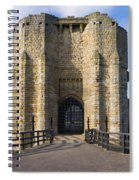 Warkworth Castle Gate House Spiral Notebook