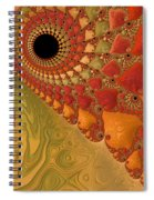 Warm And Earthy Spiral Notebook