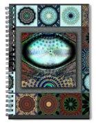 Warm Cosmos Redux Spiral Notebook