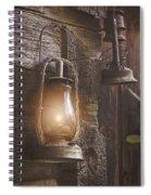 Warm Glow Spiral Notebook