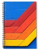 Warm On Cool Spiral Notebook