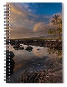 Warm Reflected Place Of Refuge Skies Spiral Notebook