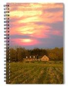 Warm Spring Sunset Spiral Notebook
