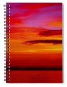 Warm Sunset Spiral Notebook