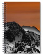Warm Winter Spiral Notebook