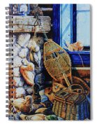Warm Winter Wishes Spiral Notebook