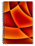 Warming Glow Spiral Notebook