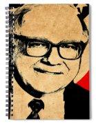Warren Buffett Spiral Notebook