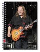 Warren Haynes Spiral Notebook
