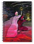 Warriors Of The Light Spiral Notebook