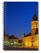 Warsaw By Night Spiral Notebook